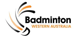 Badminton association of western australia logo